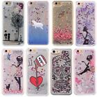 Dynamic Liquid Glitter Quicksand Pattern Hard Case Cover For iPhone 7 6 6S Plus