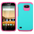 Slim Body Fit Dual Layer Case Fusion Hybrid Cover for Huawei Union Y538