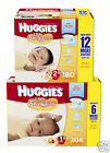 Huggies Little Snugglers Disposable Baby Diapers Size 1 and 2 BRAND NEW!