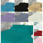 Thermal Flannelette Flat Sheet Single Double Super King Size 100% Brushed Cotton image