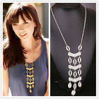 New fashion woman's Gold Plated hollow Stereo Long Necklace Sweater Chain