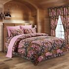 The Woods Premium Luxury Camo 5 PC Set Comforter Sheet Pillowcases Bed Skirt NEW
