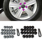 20pcs Wheel Lug Nut Center Cover Caps + Removal Tool for VW Golf Passat Audi A4