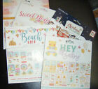 Card making craft Decoupage Pad 8 x 8 inch sheets Die cut 3 sheets of 8 designs