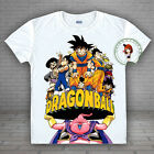 Anime Dragon Ball Goku/Gohan/Vegeta T-shirt Unisex Tee HD Printing Tops#35-R-16
