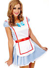 Ladies Costume Fancy Dress Up Alice in Wonderland Disney (84624) Sz 6,8,10,12,14