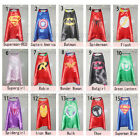 Superhero Cape Superman Batman Spiderman Supergirl Batgirl for kids (only cape)