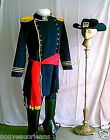 Civil War Reenactors Cosplay Union Officers Uniform Costume Large + Plus Size