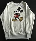Disney Mickey Mouse Licensed Sequin Sweatshirt Jumper Various Sizes
