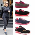 LADIES WOMENS TRAINERS RUNNING SPORTS GYM FITNESS EXERCISE FASHION SHOES SIZE