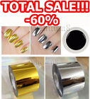 # Black Farbgel Gel Nail Paint Silver Gold Foils Emi Nail Art MADE in GERMANY