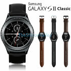 Leather Band Bracelet Watchband Strap w/Buckle For Samsung Gear S2 Classic R732