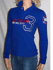RALPH LAUREN BLUE SKINNY FIT RUGBY SHIRT BIG PONY MATCH ON SLEEVE NWT $165 VALUE
