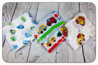3  8pack XXL COTTON NAPPIES MULTIPURPOSE BABY PRINTED MUSLIN SQUARES70x80 COLOUR