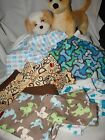 Male Design Large Flannel Dog Jammies,Pj's see more sizes in  my E-bay store NEW