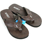NEW MEN'S SPORTS THONG BEACH POOL INDOOR OUTDOOR FLIP FLOPS SLIPPERS SHOES