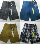 NEW BOYS GENERRA COTTON PREPSTER FIT CARGO SHORTS VARIETY Size 5-14 You Pick!