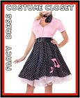 1950s 50s Grease TV Movie Pink Ladies Rock n Roll Fancy Dress Costume Hollywood