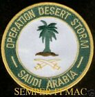OPERATION DESERT STORM PATCH US ARMY MARINES NAVY AIR FORCE VETERAN PIN UP GIFT