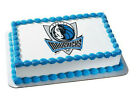 Dallas Mavericks NBA basketball cake topper frosting image sheet #4763 on eBay