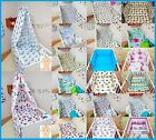3 PIECE BABY DUVET BEDDING SET WITH BUMPER PATTERNED 100% COTTON FOR COT COT BED