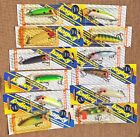 Bagley Lit'l John Complete 12-lure Color Set! All new in pkg! Made in USA RARE