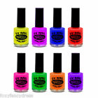 PaintGlow UV Reactive Neon NAIL VARNISH, Glows under UV lighting - Festival Rave