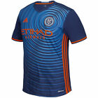 Adidas Adult NYC Football Club 2016 Replica Second Jersey Navy New FREE POSTAGE image
