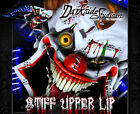 "YAMAHA 2010-2016 YZF250 & YZF450 ""STIFF UPPER LIP"" GRAPHICS CLOWN DECAL WRAP"
