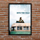 Into The Wild Magic Bus Book Movie Poster High Quality Poster Print Art A1, A2+