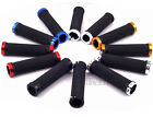 MTB Mountain Bike Bicycle Handlebar Grips Cycling Lock-On Ends
