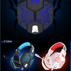 EACH G1100 Vibration LED Function Pro Gaming Headphone Games Headset with MIC PC