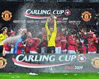 MANCHESTER UNITED LEAGUE CUP WINNERS 2009 02 (FOOTBALL) PHOTO PRINT