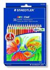 STAEDTLER Noris Club coloured pencil smooth soft painting - 36 COLOR SET
