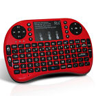 Rii i8+ 2.4G Mini Wireless Keyboard w/ Backlight for Smart TV Android TV Box PC