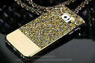 Bling Austria Diamond Crystal Leather Case Back Cover For Samsung Galaxy S7