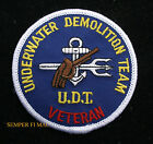 UDT VETERAN HAT PATCH US NAVY SEAL TEAM WW 2 KOREA Underwater Demolition TEAM