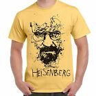 Maglietta Uomo T-Shirt Serie TV Breaking Bad Walter White Heisenberg Sketch