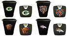 NFL Team Logo 2 Piece Bath Set Black Digital Bathroom Scale and 3 Gal Trash Can $119.88 USD on eBay