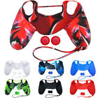 Silicone Cover CaseSkin + JoyStick Caps for Sony Playstation 4 PS4 Controller