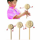 Baby Kids Child Wood Rattle Drum Instrument Child Musical Toy Chinese Styles BA