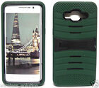 ARMY GREEN & BLACK U-Case Hybrid Cover Case for Samsung Galaxy Grand Prime
