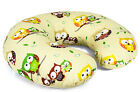 FEEDING PILLOW breast nursing maternity baby pregnancy + REMOVABLE COTTON COVER