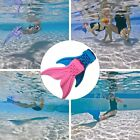 New Mermaid MONOFIN Kids toy Swimming Swim Pool Flippers Pink and Blue Finis