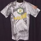 Vintage 1990 Oakland A's JOSTENS T-Shirt ALL OVER PRINT MLB Athletics NWT