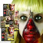 Halloween Zipper Face Kit Scary Zip Bloody Fancy Dress Special FX Blood Makeup