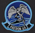 VP-65 PATRON TRIDENTS PATCH NAS LOS ALAMITOS US NAVY VETERAN PIN UP P3 VIETNAM