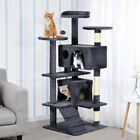 163cm Cat Kitten Tree Tower Post Toy Condo Scratch Post Pet House Play New