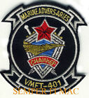 VMFT-401 US MARINE ADVERSARY SQUADRON SNIPERS HAT PATCH F-5 PIN UP USMC MAW WOW