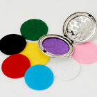 25mm Refill Pads for Diffuser Necklaces Aromatherapy Essential Oils Pad 20pcs